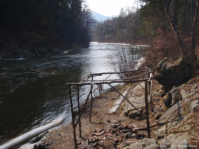По рекам Дальнего Востока. Сплав по реке Кема.