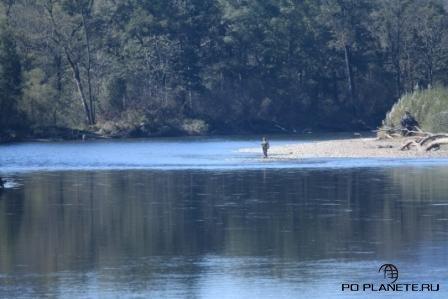 По рекам Дальнего Востока. Рыбалка на реке Бикин.