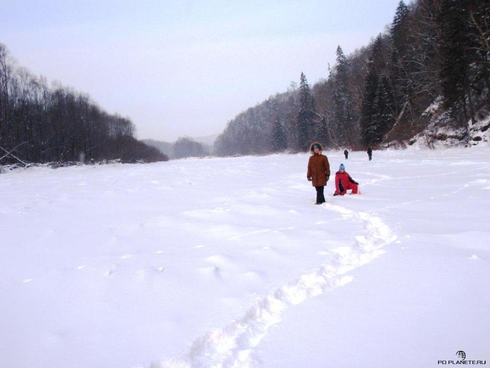 Новый Год на реке Сукпай
