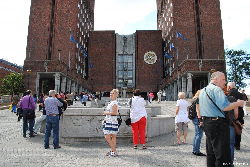 В здании Ратуши Осло вручают Нобелевскую премию