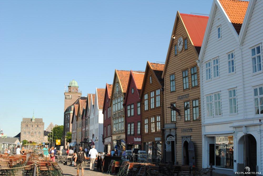 Берген - один их красивейших городов Европы, без сомнения