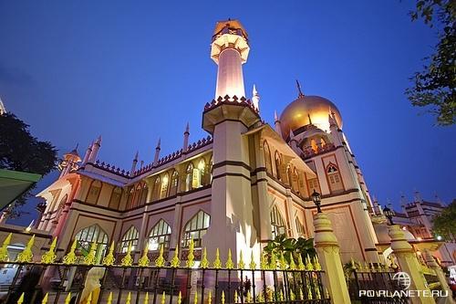 Масджид-Султан, главная мечеть Сингапура