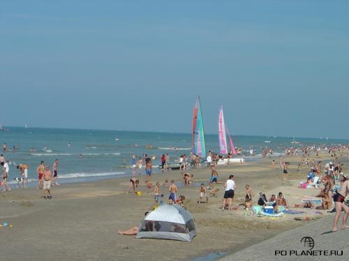 Де Панне, оазис спокойствия на бельгийском побережье