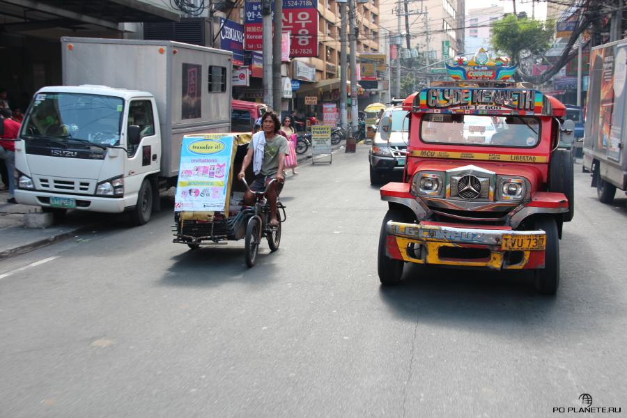 Улица Манилы
