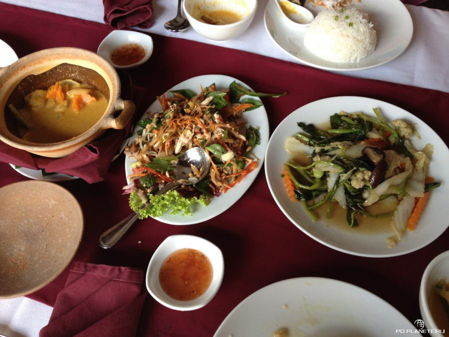 кхмерские деликатесы