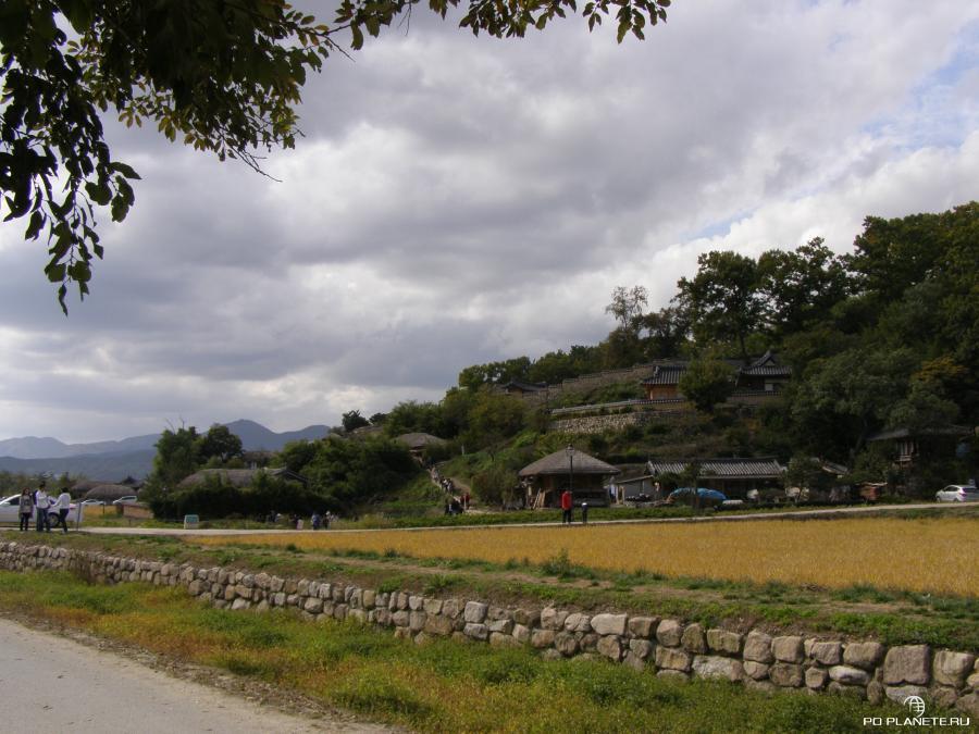 Деревня Яндон
