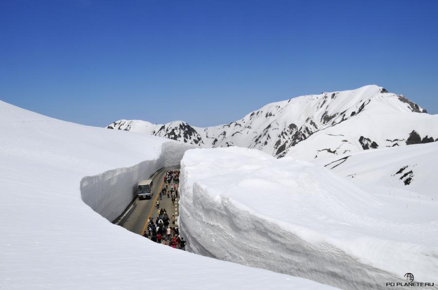 Снежный коридор Юки-но-Отани
