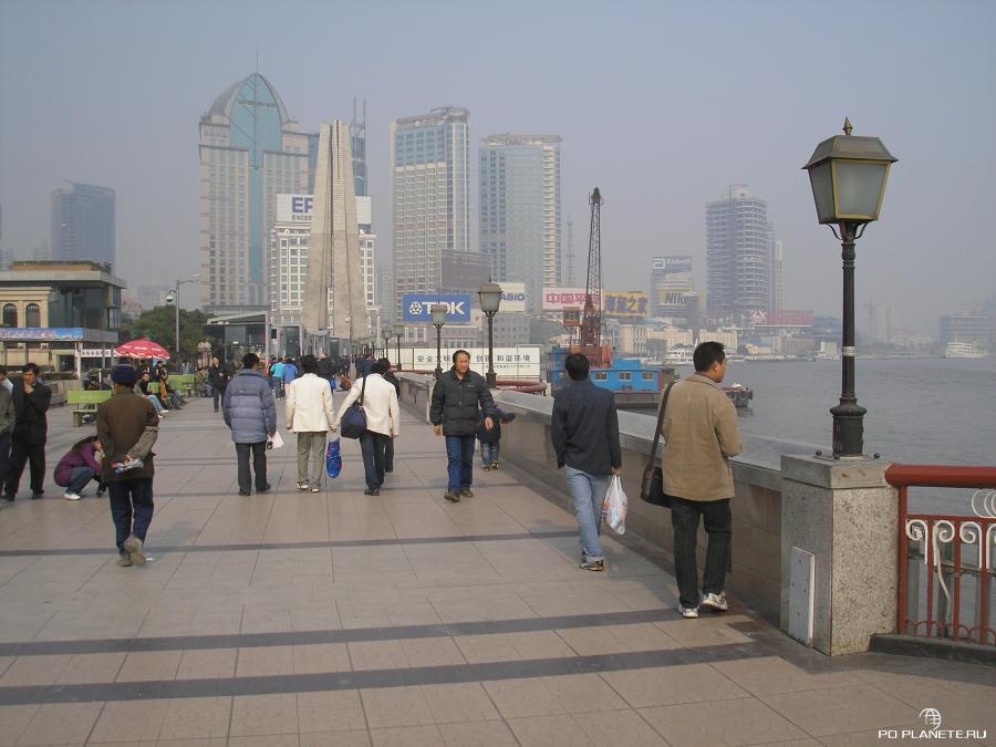 Набережная Вайтань - любимое место прогулок