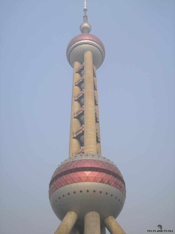 Телевизионная башня Oriental Pearl