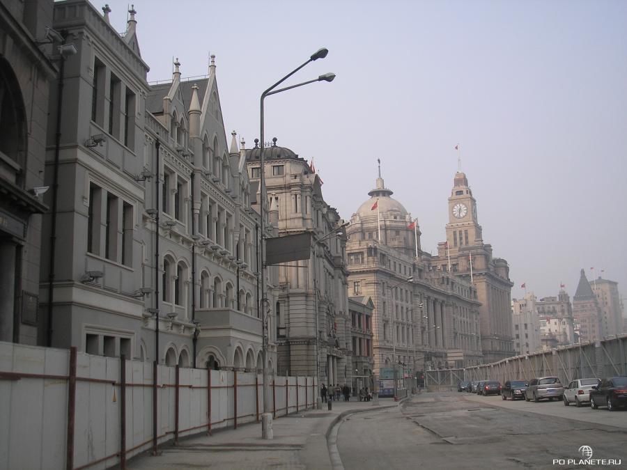 Бунд - европейский район Шанхая