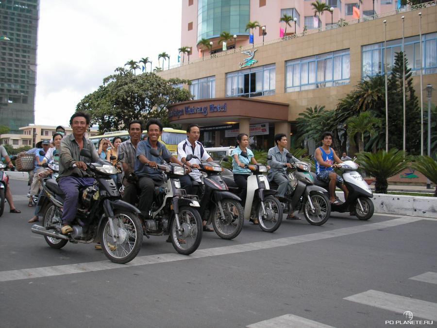 Во Вьетнаме свыше 40 миллионов мотоциклов!