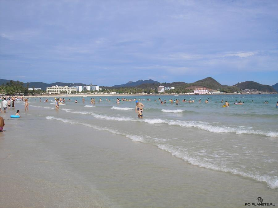 Санья. Пляж в Дадунхае