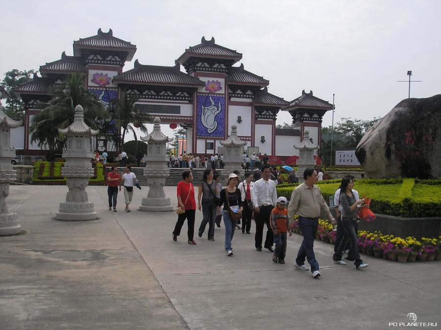 Вход в парк Наньшань