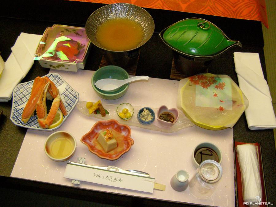 Японская кухня и правила этикета