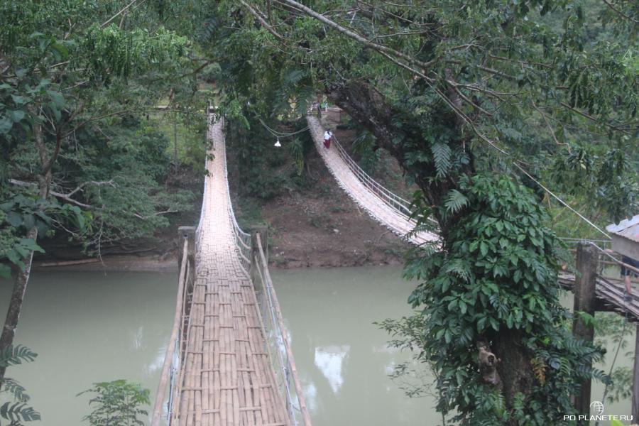 Бохол. Висячие мосты