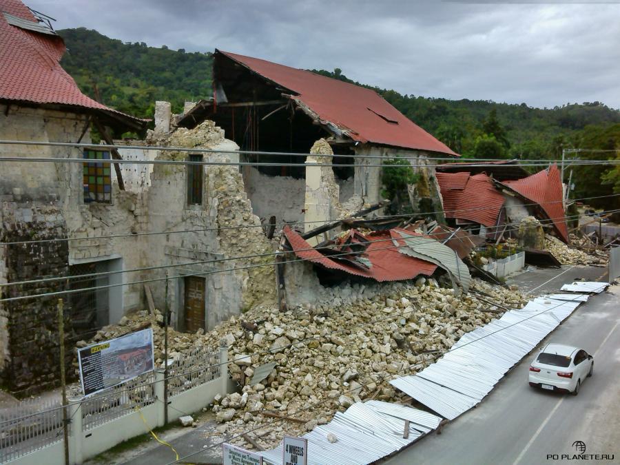 Бохол. Последствия землетрясения