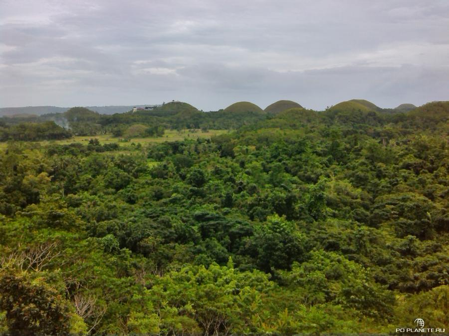 Бохол. Шоколадные холмы