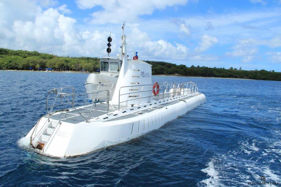 Вот так выглядит подводная лодка Atlantis