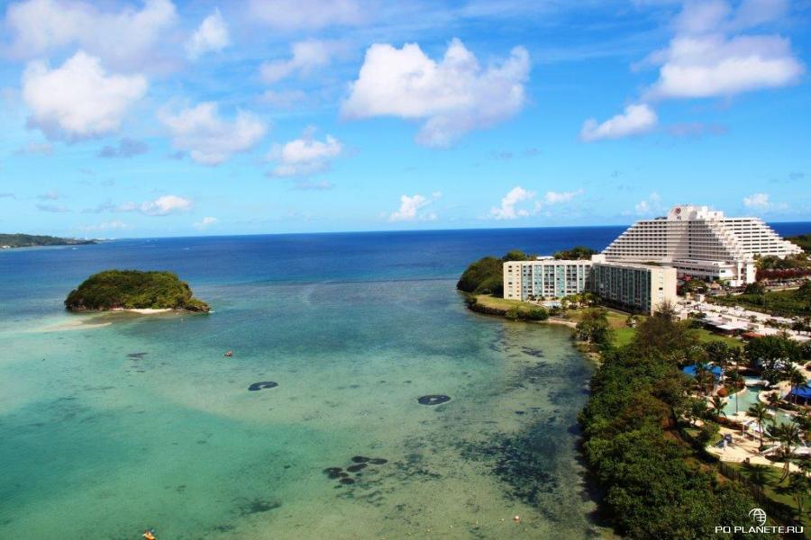 Вил на Sheraton Laguna Guam из отеля Reef
