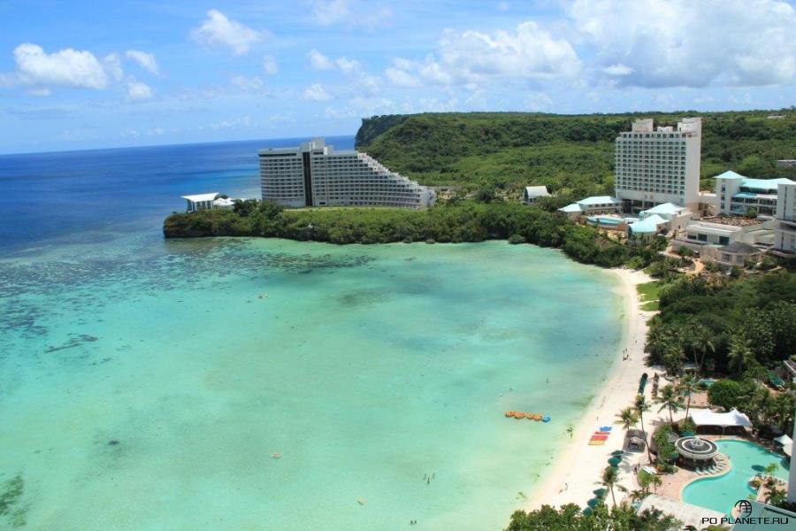 Вид на Hotel Nikko Guam