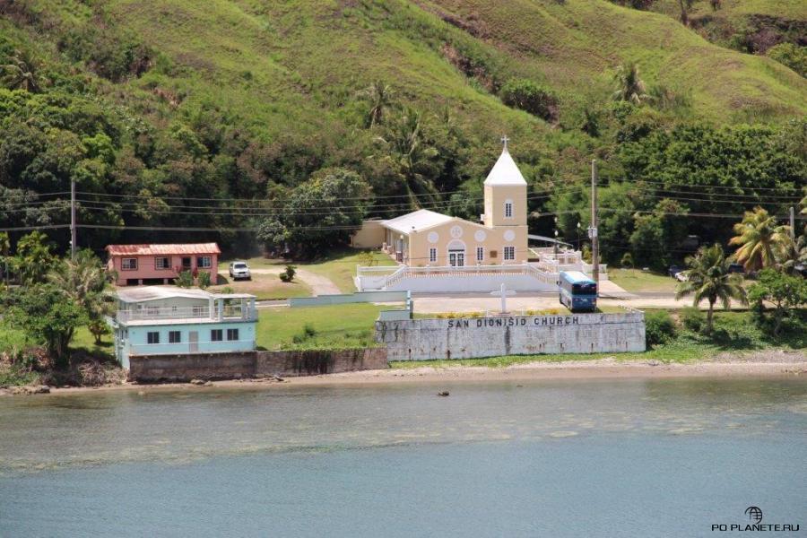 Церковь святого Дионисия в деревне Уматак