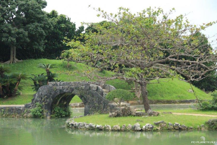 Королевский сад Сикина (Shikina-en)