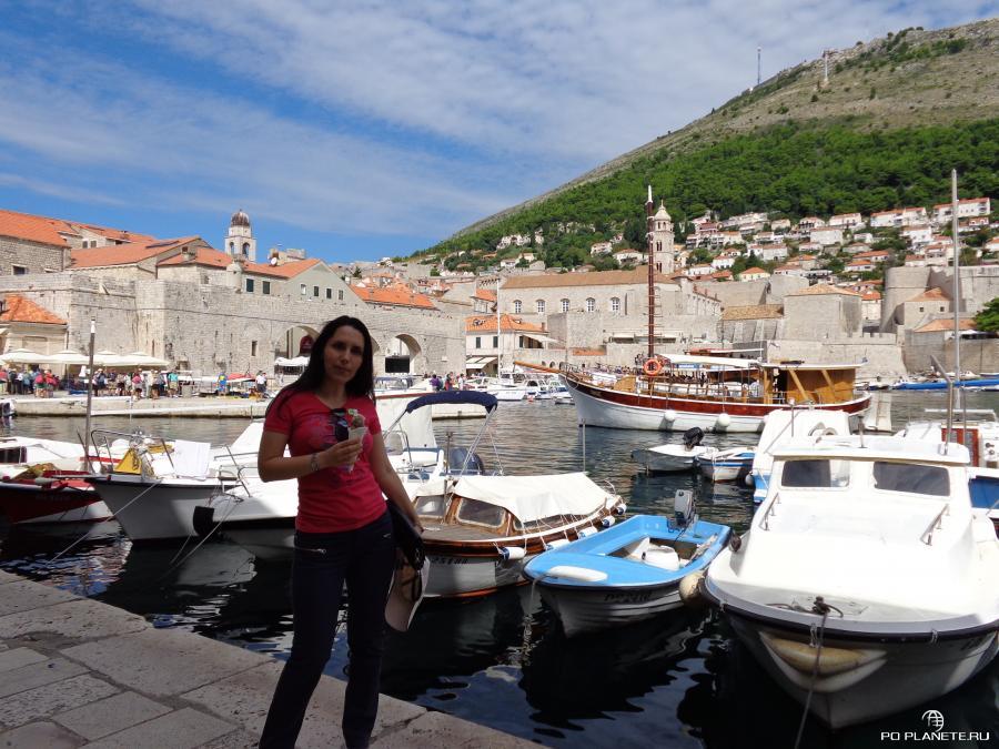 В старом порту Дубровника