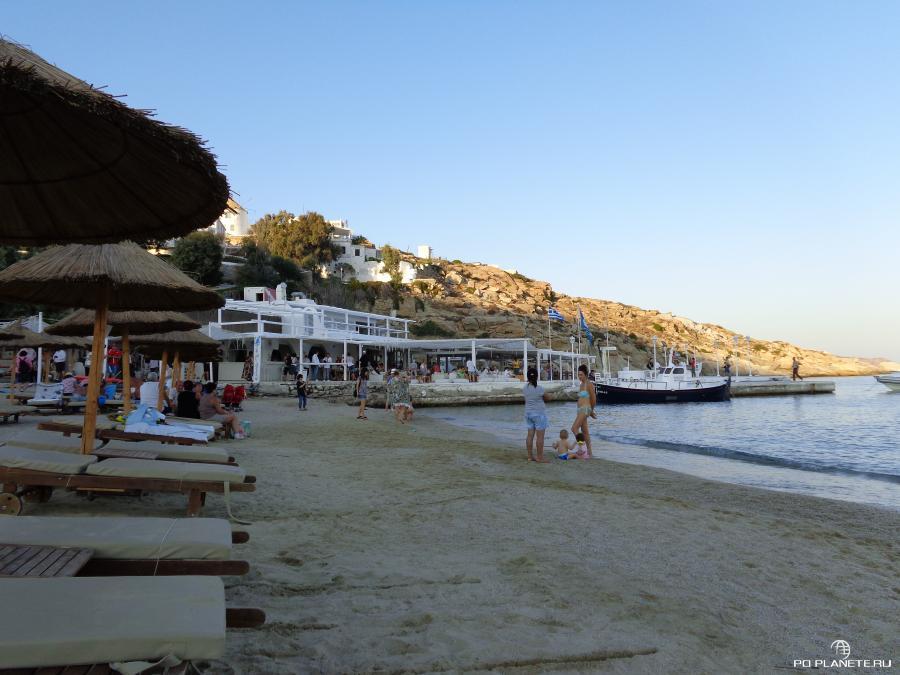 Пляж Миконоса