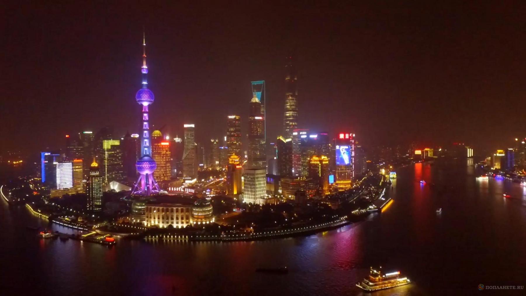 """Прогулки по Шанхаю. Телебашня """"Восточная Жемчужина"""""""