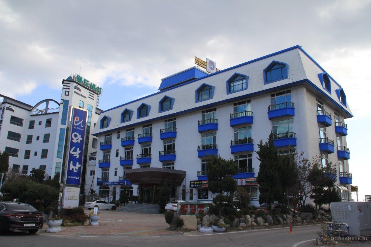 Мотель в городе Сокчо