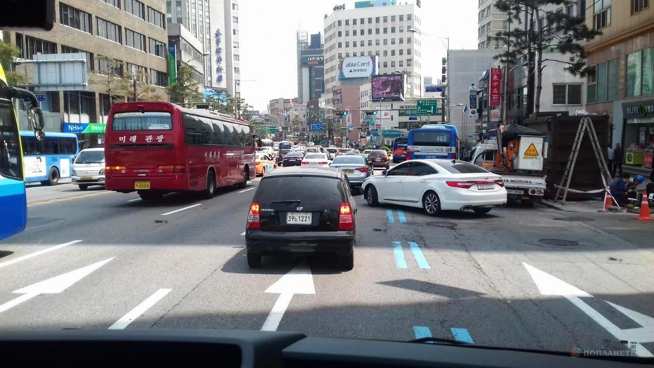 Движение в Сеуле