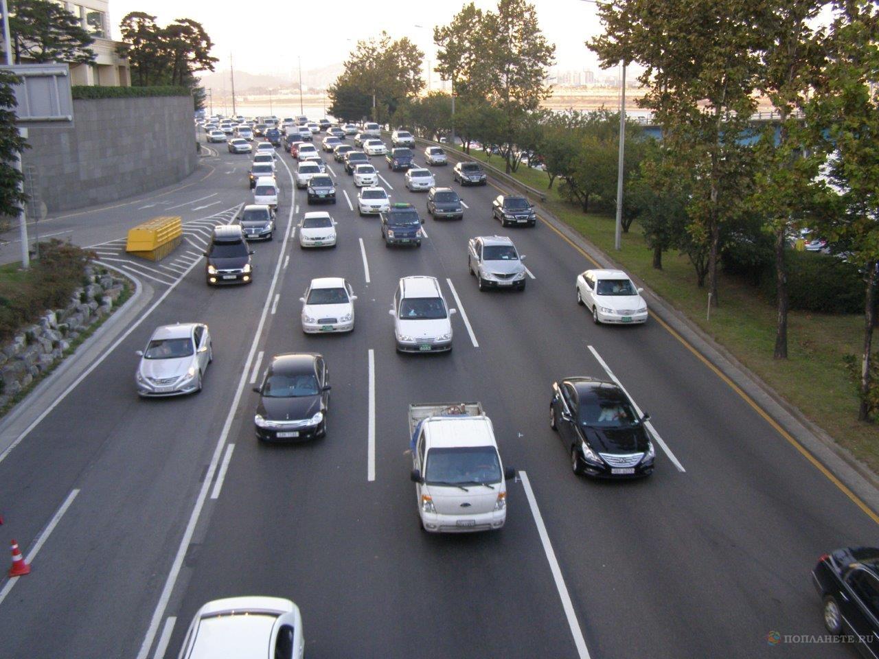 Сеульский траффик