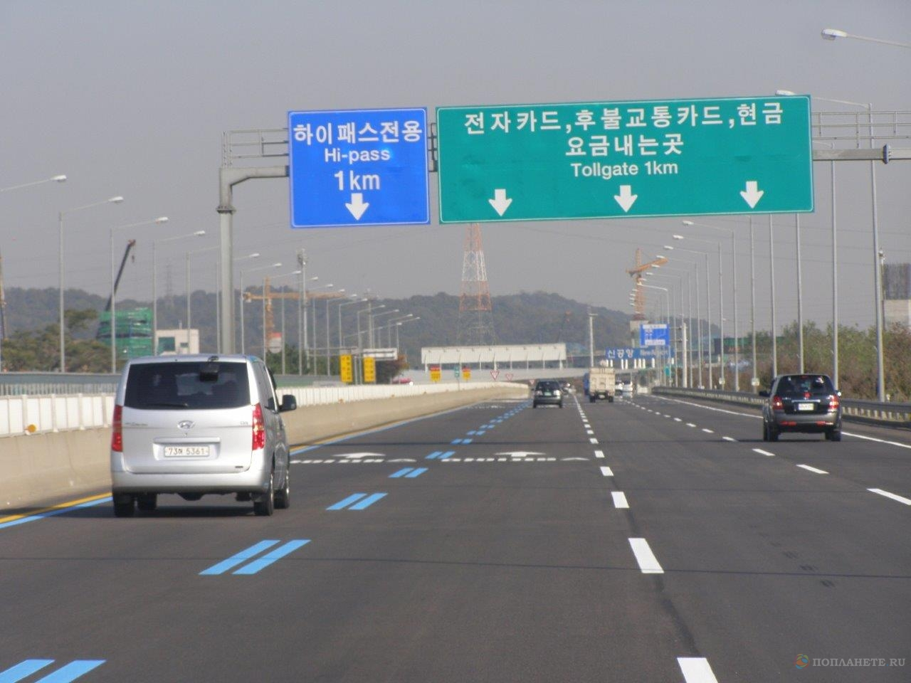В Корею - на своем автомобиле